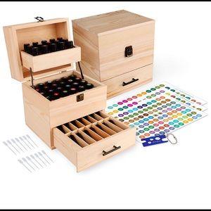 Essential Oils Wooden box storage Doterra 🆕